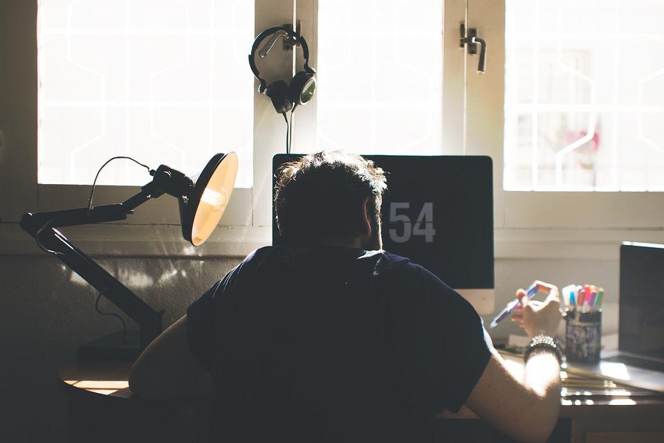 Ergonomische bureaustoel voor thuiswerken of op kantoor