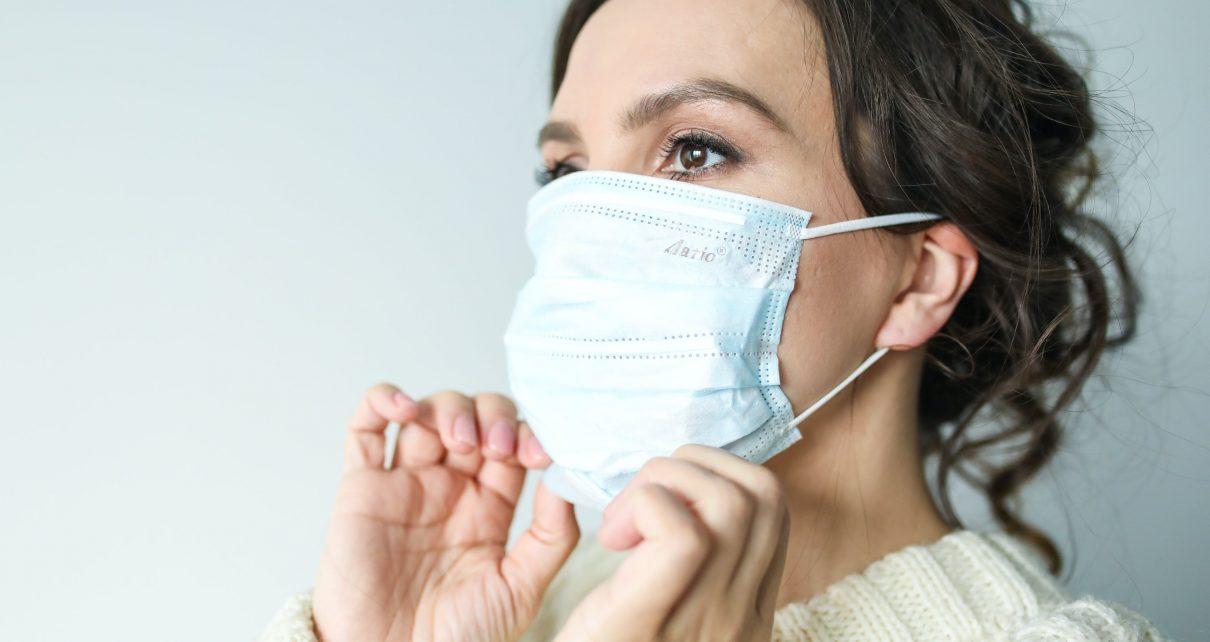 Corona hygiëne zoals mondkapjes, schorten, handschoenen