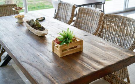 Industriële eettafel in de keuken of woonkamer