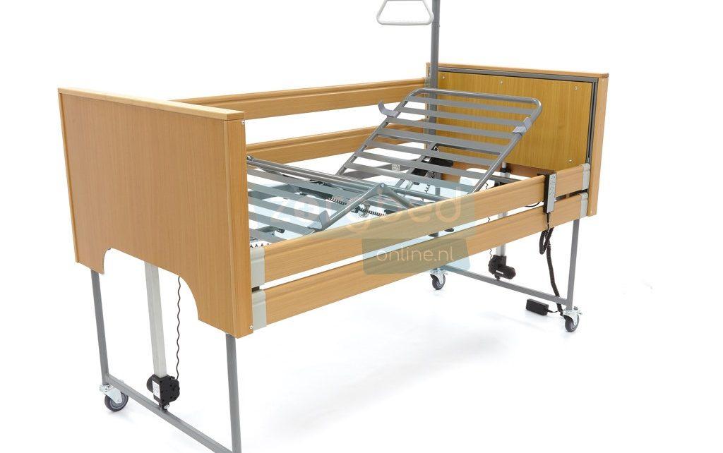 Hoog-laag bed in hoogte verstelbaar bed of ledikant