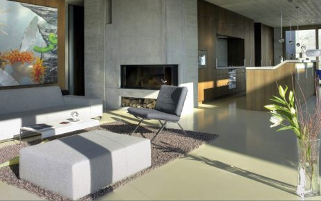 Betonvloer voor woning